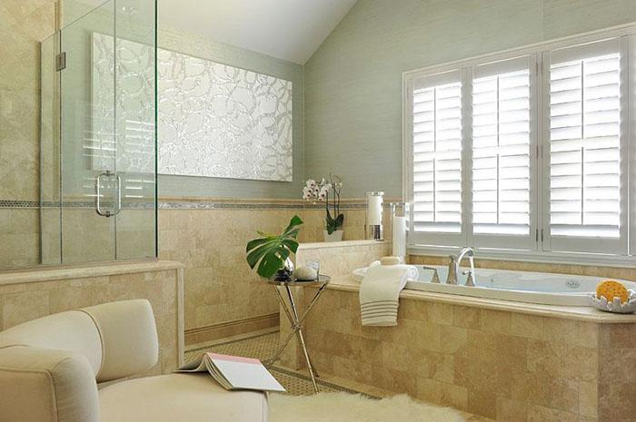 Интерьер ванной от  Frances Herrera Interior Design