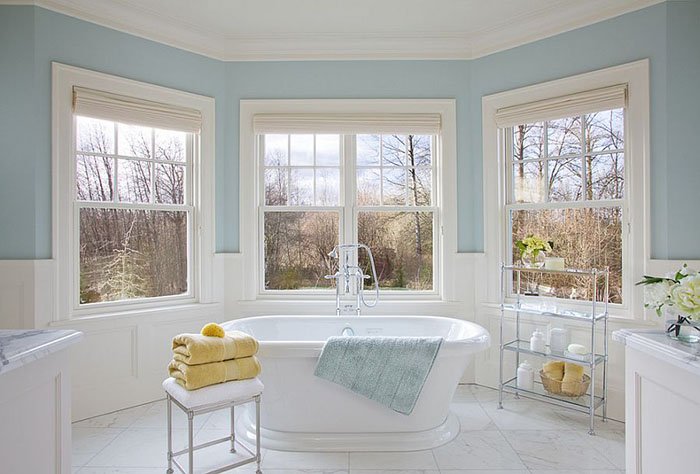 Интерьер ванной от Garrison Hullinger Interior Design