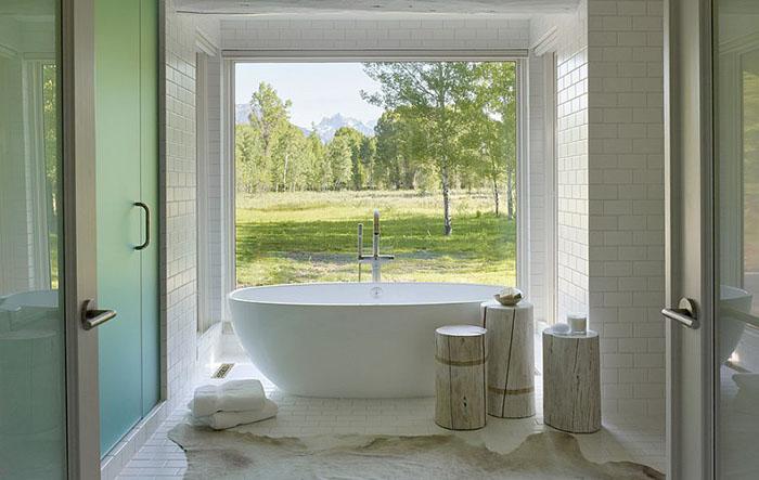 Интерьер ванной от Carney Logan Burke Architects