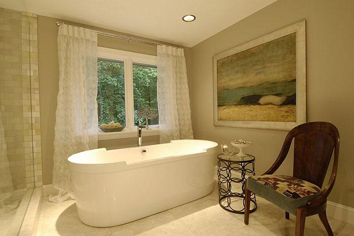 Интерьер ванной от Steiner Design Interiors