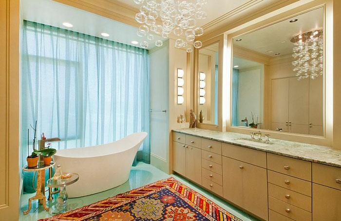 Интерьер ванной от Bruce Frasier Architects