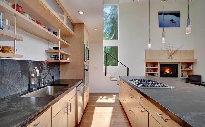 Интерьер кухни от Spore Design
