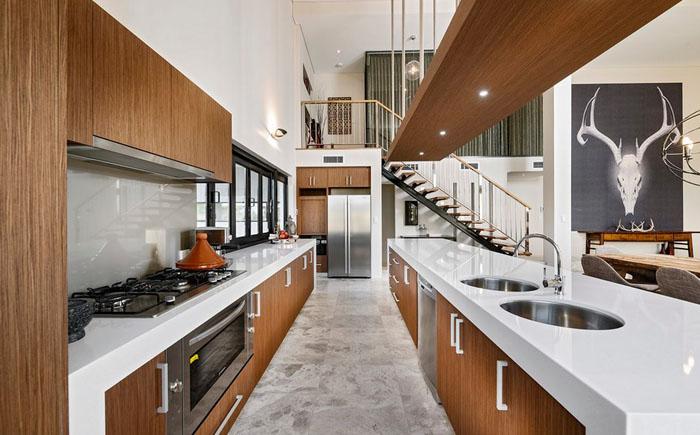 Интерьер кухни от THE RURAL BUILDING COMPANY