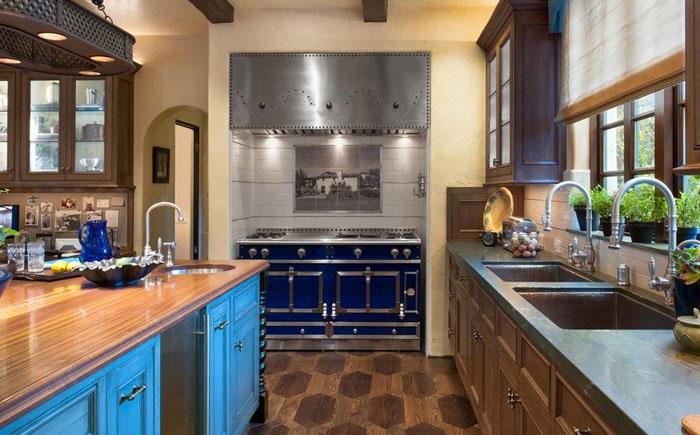 Интерьер кухни от Parker West Interiors