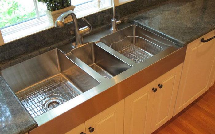 Интерьер кухни от Guinn Construction LLC