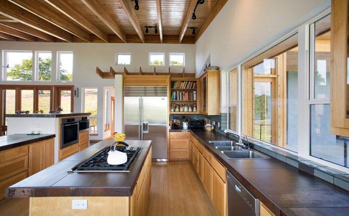 Интерьер кухни от Carlos Delgado Architect