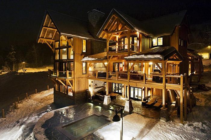 Шале BighornSki, Британская Колумбия