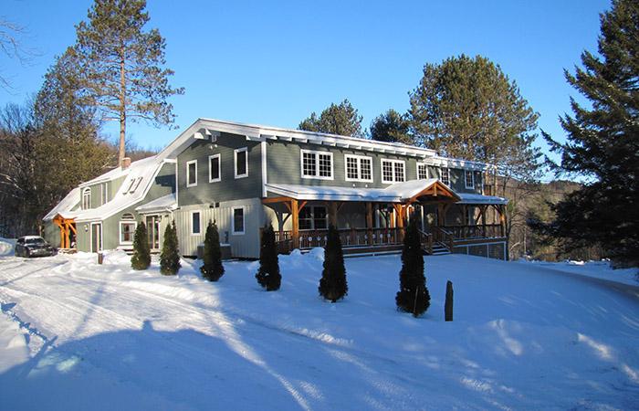 Большой дом в Киллингтоне, Вермонт