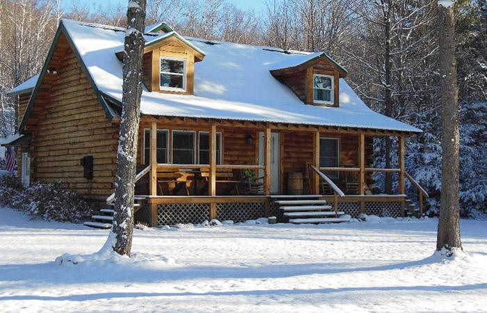 Дом в Белых горах, Нью-Гемпшир