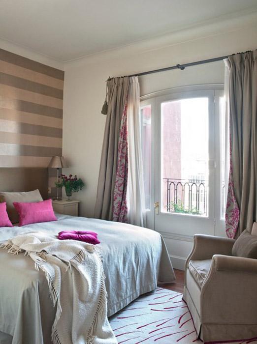 Интерьер спальни от Carmina Baygual