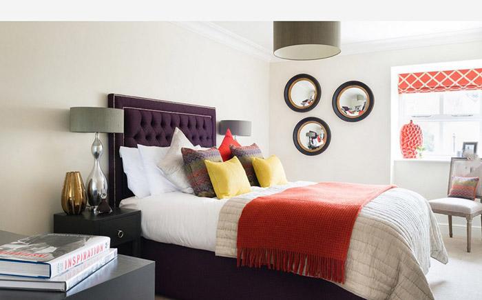 Интерьер спальни от Park Grove Design