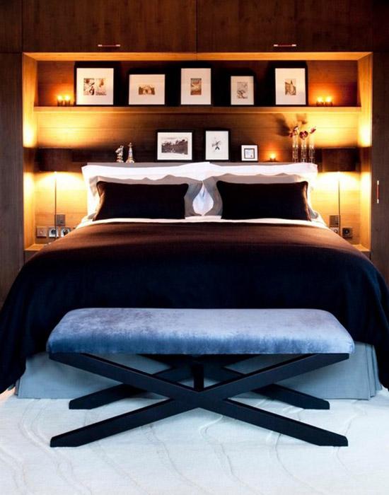 Интерьер спальни от Inspired Design Ltd