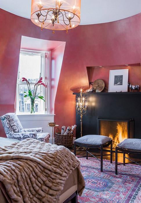 Интерьер спальни от Annie Hall Interiors