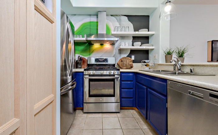 Интерьер кухни от CC Gilmore Interiors