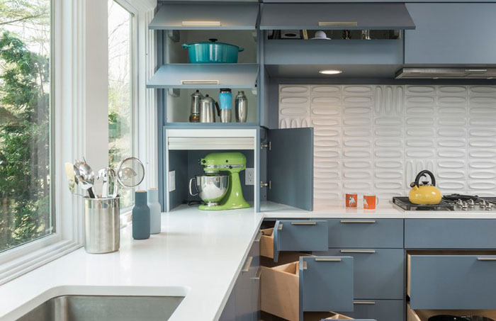 Интерьер кухни от Flavin Architects