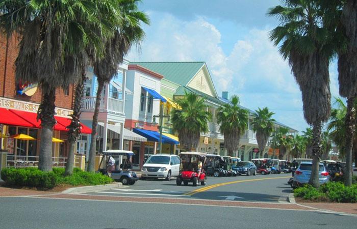 Те-Виллиджис, Флорида