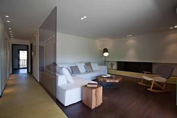 Прозрачные стены из стекла
