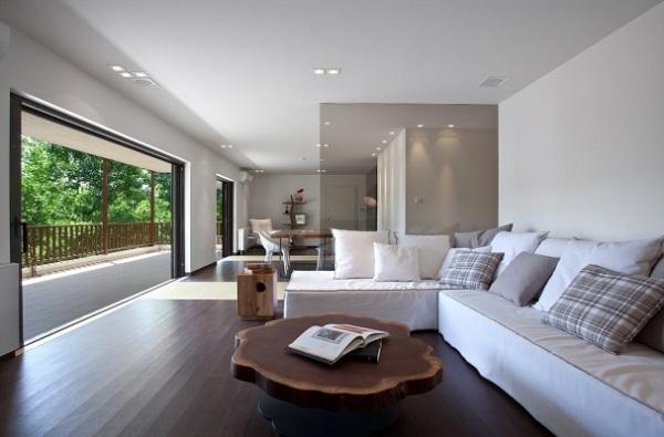 Элегантный и стильный дизайн квартиры по-гречески