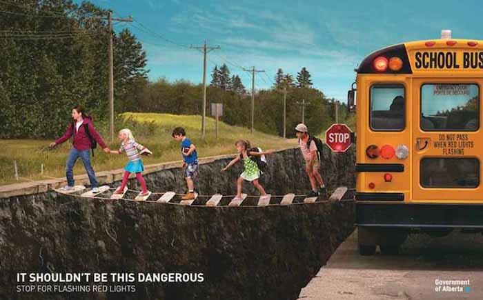 Он не должен быть таким опасным. Остановись на мигающий красный