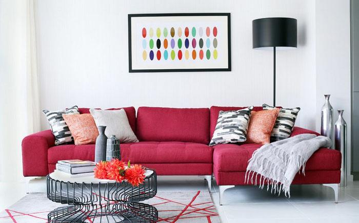 Современная гостиная от LLI Design