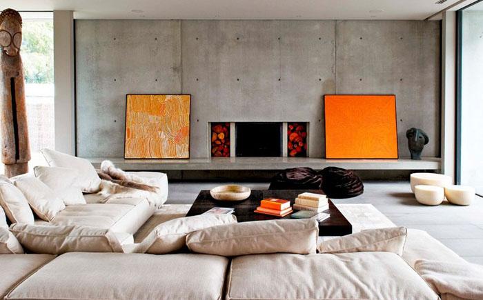 Интерьер гостиной от Robert Mills Architects and Interior Designers