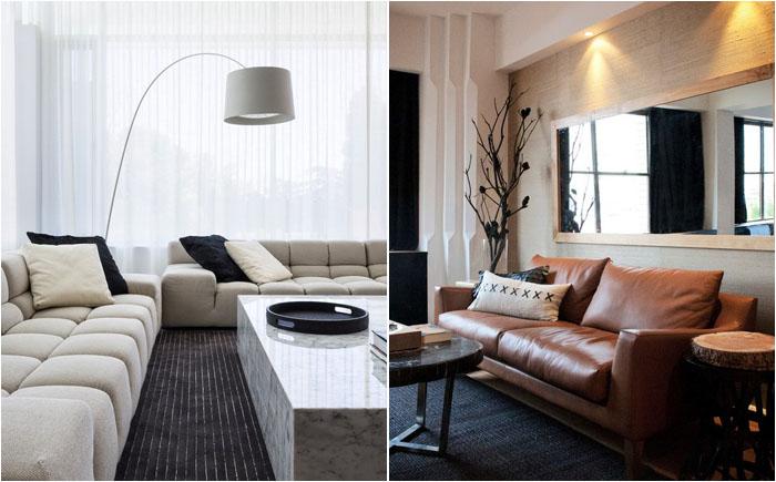 Формы и размеры дивана могут быть разными