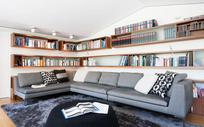 Интерьер гостиной от Innenarchitektur-Rathke