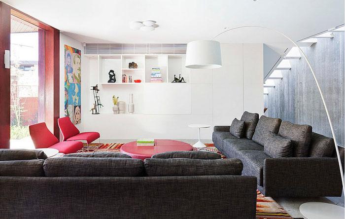 Интерьер гостиной от bg architecture