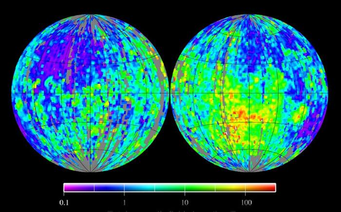 Магнитные поля на Луне