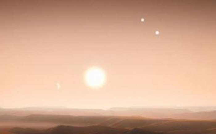 Трехзвездная система КIC 2856960