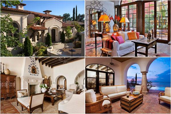 Как построить дом в испанском стиле