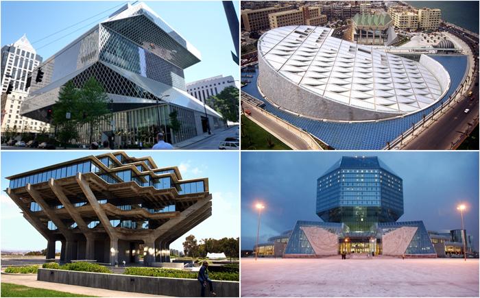 10  библиотек с современной архитектурой и дизайном