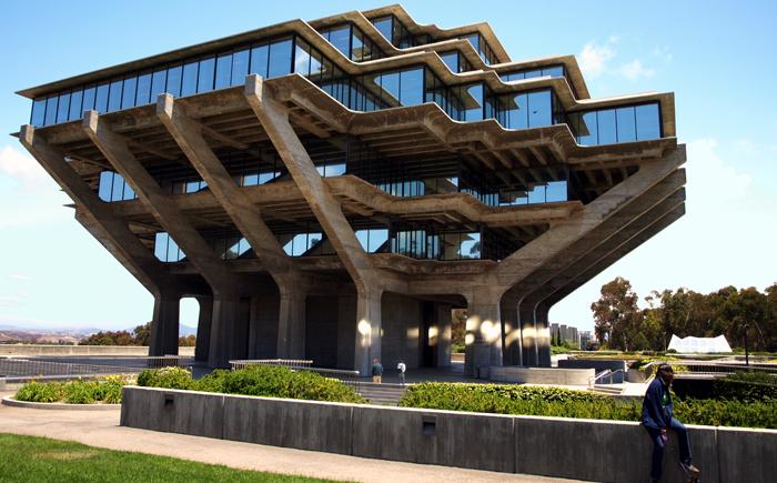 Библиотека Гейзеля, Сан-Диего