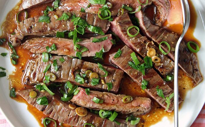 Маринуем мясо после обжаривания