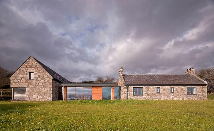 Каменный коттедж в Шотландии: проект Torispardon