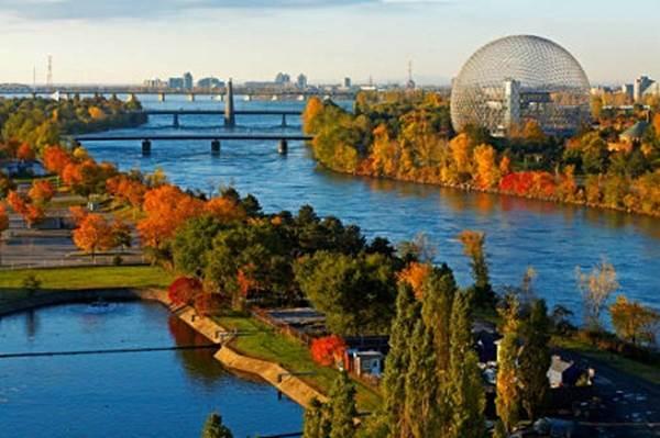 Музей экологии Биосфера, Монреаль (Канада)
