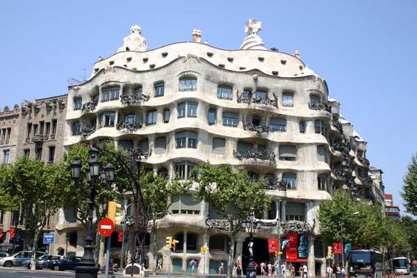 La Pedrera, Барселона (Испания)