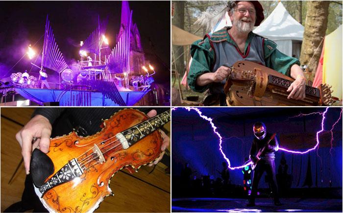 10 самых необычных музыкальных инструментов в мире