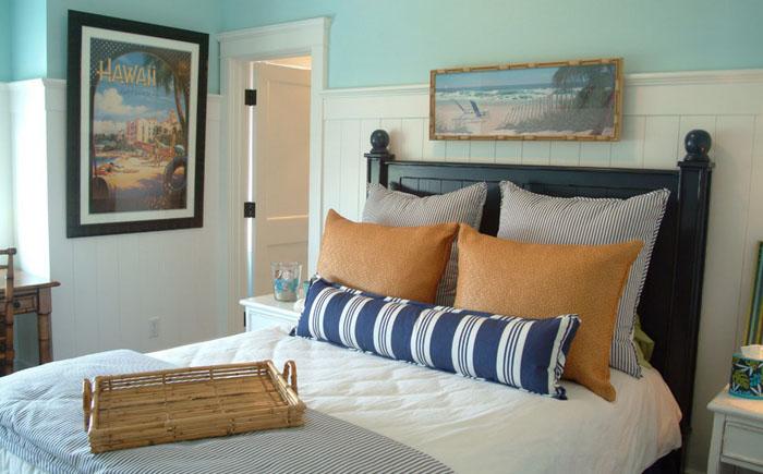 Интерьер спальни от Darci Goodman Design