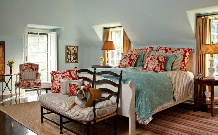 Интерьер спальни от Cynthia Marks - Interiors