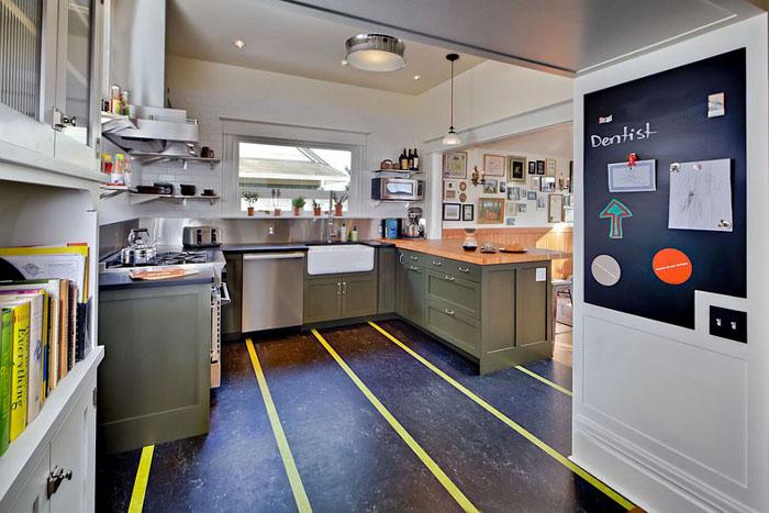 Интерьер кухни от Gaspar's Construction