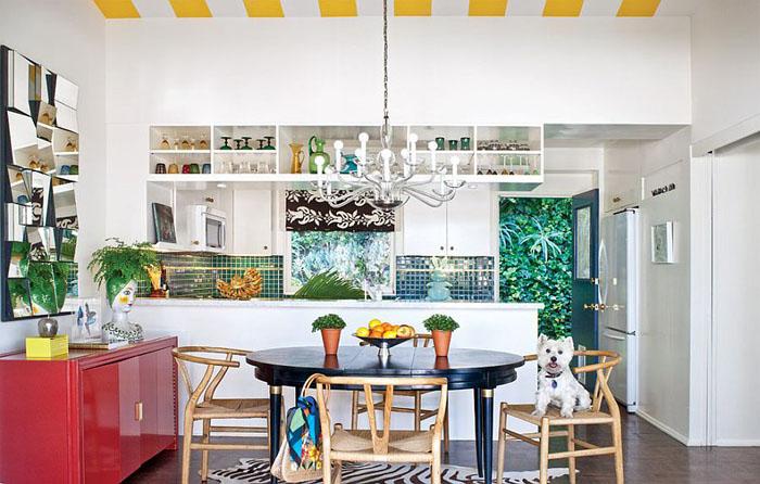 Интерьер кухни от California Home + Design