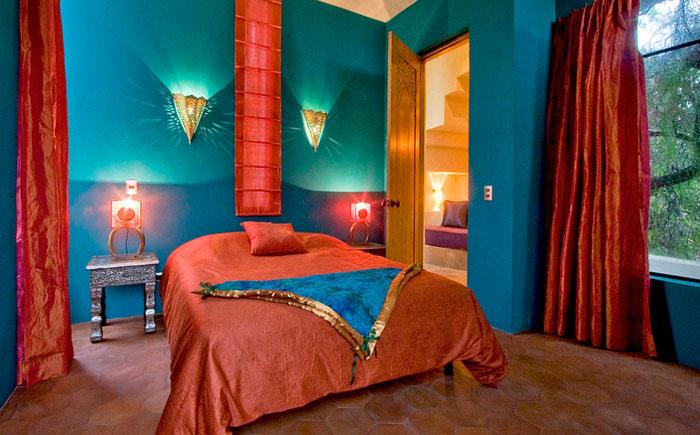 Седиземноморский стиль с испанскими и марокканскими мотивами