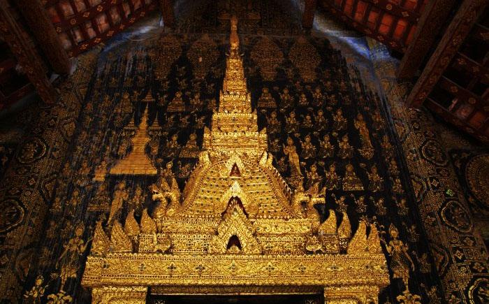 Храм Ват Ксиенг Тхонг, Луангпхабанг, Лаос