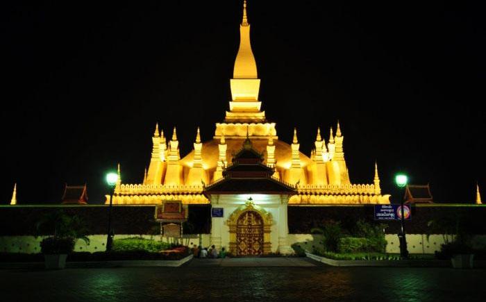 Пха Тхат Луанг, Вьентьян, Лаос