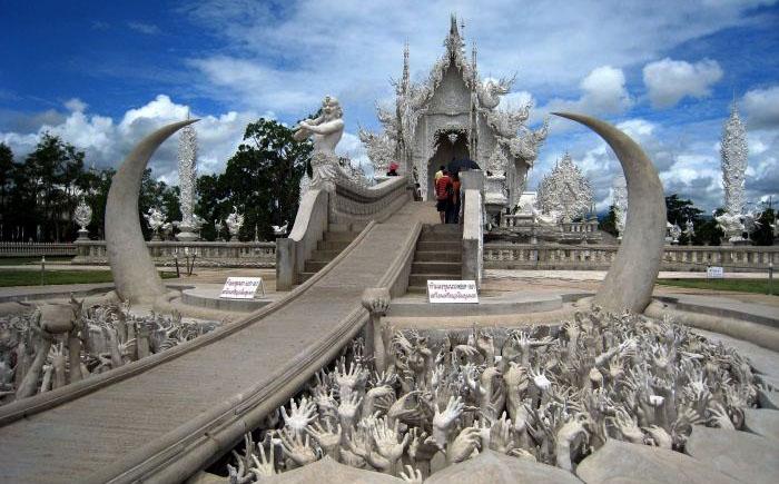 Храм Ват Ронг Кхун, Чианг Рай, Таиланд