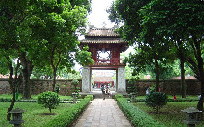 Храм Литературы, Ханой, Вьетнам