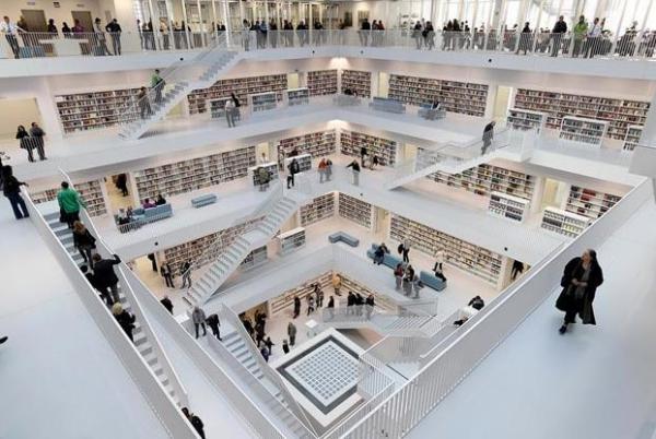 Штутгартская городская библиотека, Германия