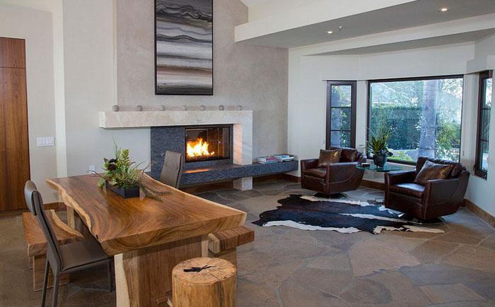 Неповторимый интерьер домашнего офиса от James Glover Residential & Interior Design
