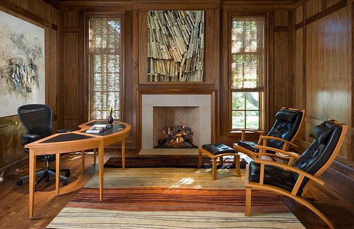 Интерьер домашнего офиса от  Richard Drummond Davis Architects